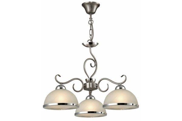 LINDGARD LAMPA WISZĄCA 3 PŁOMIENNA NIKIEL MAT N108703-07