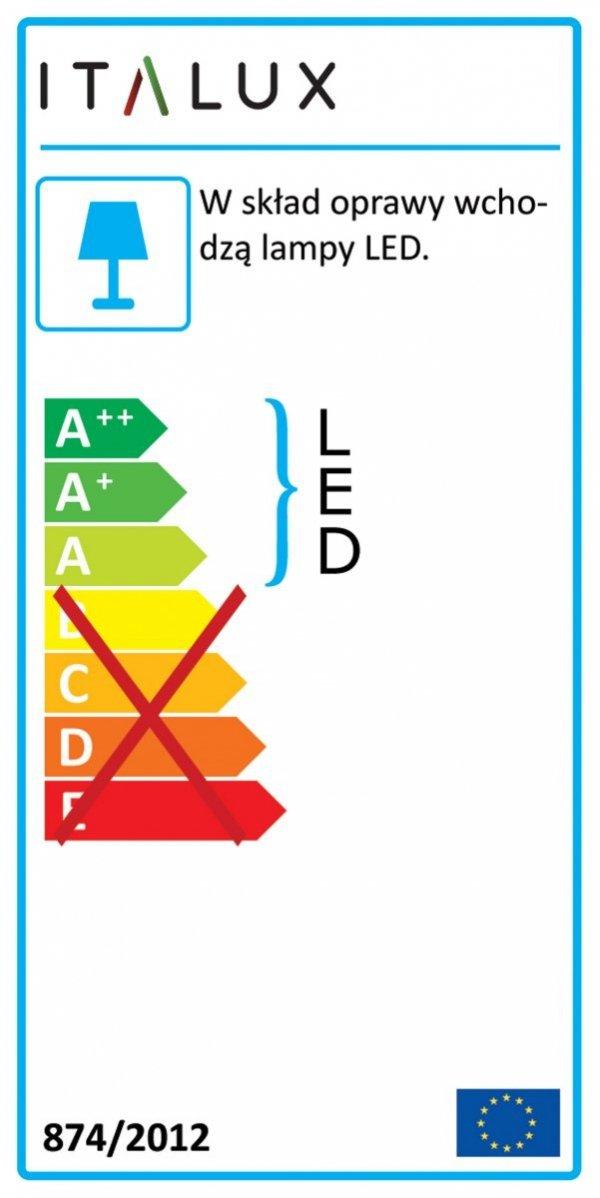 Lampa wisząca REYNA MD17077-8B Italux