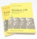 KWATERA 139 OPOWIEŚĆ O MARSZAŁKU TOM 1 i 2 1989