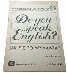ANGIELSKI W RADIU 8/9 KURS FONETYKI 1972/73