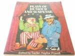 PLAYS OF HUMOUR AND SUSPENSE - Sadler, Hayllar