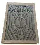 PAMIĘTNIKI TOM 1 - Stanisław Grabski (1989)