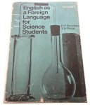 ENGLISH AS A FOREIGN LANGUAGE FOR SCIENCE VOL. 1
