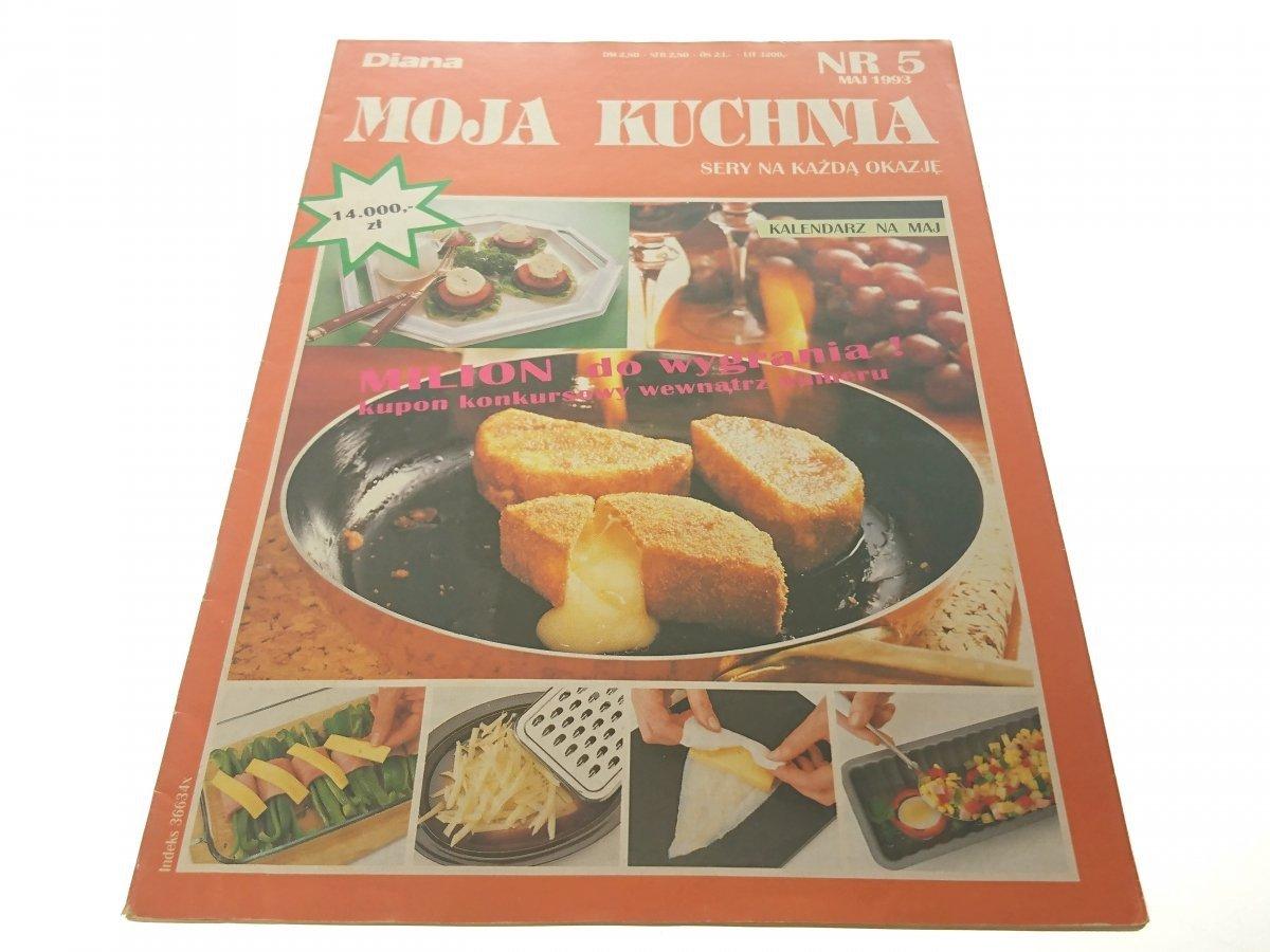 Moja Kuchnia Nr 5 Maj 1993 Sery Na Każdą Okazję