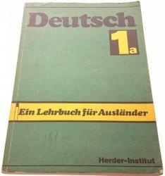 DEUTSCH 1A EIN LEHRBUCH FUR AUSLANDER (1988)