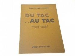 DU TAC AU TAC - Ludomir Przestaszewski 1978
