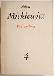 PAN TADEUSZ - Adam Mickiewicz 1982