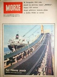 MORZE NR 11/528 ROK XXX/L LISTOPAD 1974