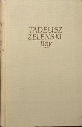 OBRACHUNKI FREDROWSKIE - Tadeusz Żeleński Boy 1956