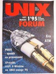 UNIX FORUM NR 1'95 LUTY MARZEC