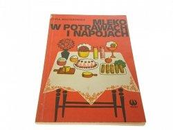 MLEKO W POTRAWACH I NAPOJACH - Maciesowicz (1977)