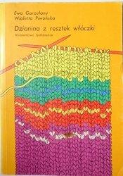 DZIANINA Z RESZTEK WŁÓCZKI - Ewa Gorzelany 1990