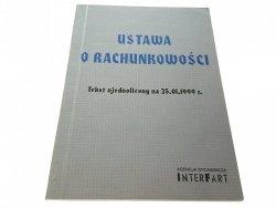 USTAWA O RACHUNKOWOŚCI. TEKST UJEDNOLICONY (1999)
