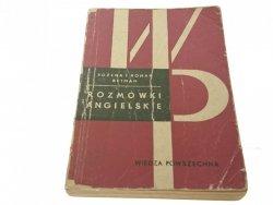 ROZMÓWKI ANGIELSKIE - Bożena i Roman Retman (1968)