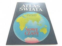 POLITYCZNY ATLAS ŚWIATA 1989