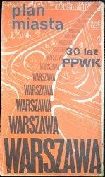 WARSZAWA. PLAN MIASTA 1981