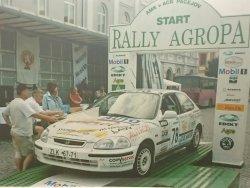 RAJD WRC 2005 ZDJĘCIE NUMER #018 HONDA CIVIC