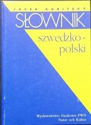 SŁOWNIK SZWEDZKO-POLSKI - Jacek Kubitsky 1998