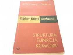 STRUKTURA I FUNKCJA KOMÓRKI - A. G. Loewy (1969)