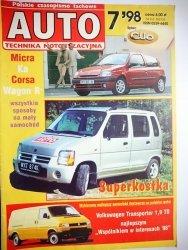 AUTO. TECHNIKA MOTORYZACYJNA NR 7'98