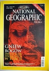 NATIONAL GEOGRAPHIC POLSKA VOL. 2 NR 7 (10) LIPIEC 2000