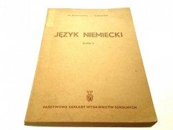 JĘZYK NIEMIECKI KLASA V - W. Dewitzowa 1960