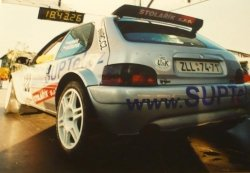 RAJD WRC 2005 ZDJĘCIE NUMER #321 HONDA CIVIC