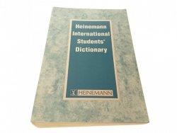 HEINEMANN INTERNATIONAL STUDENTS DICTIOTNARY 1991