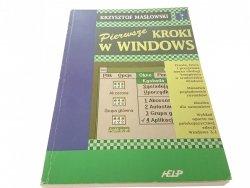 PIERWSZE KROKI W WINDOWS - Masłowski (1994)