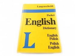LANGENSCHEIDT. POCKET ENGLISH DICTIONARY