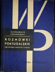 ROZMÓWKI PORTUGALSKIE - Aleksander Porembiński