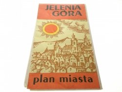 JELENIA GÓRA - PLAN MIASTA 1982