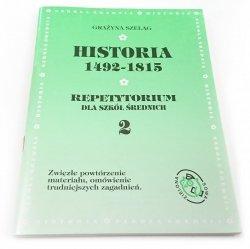 HISTORIA 1492-1815 REPETYTORIUM CZĘŚĆ 2