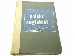 MAŁY SŁOWNIK TECHNICZNY POLSKO-ANGIELSKI 1962