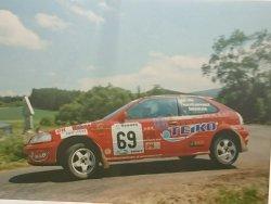 RAJD WRC 2005 ZDJĘCIE NUMER #020 HONDA CIVIC