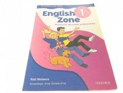ENGLISH ZONE 1 PODRĘCZNIK - Rob Nolasco (2003)
