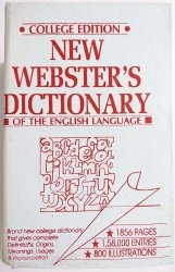NEW WEBSTER'S DICTIONARY OF THE ENGLISH LANGUAGE 1988