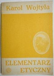 ELEMENTARZ ETYCZNY - Karol Wojtyła 1983