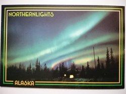 ALASKA'S AURORA BOREALIS. NORTHERNLIGHTS