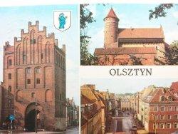 OLSZTYN. WYSOKA BRAMA Z XIV w. FOT. STELMACH