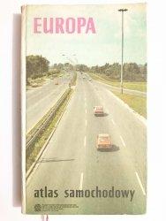 EUROPA. ATLAS SAMOCHODOWY - red. Teresa Zakrzewska 1987