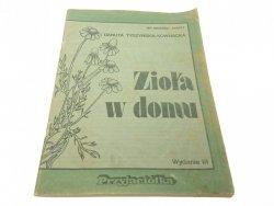 ZIOŁA W DOMU - Danuta Tyszyńska-Kownacka