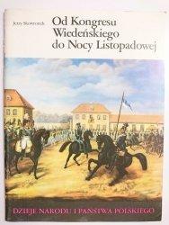 DNiPP OD KONGRESU WIEDEŃSKIEGO DO NOCY LISTOPADOWEJ Skowronek 1987