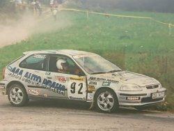 RAJD WRC 2005 ZDJĘCIE NUMER #023 HONDA CIVIC