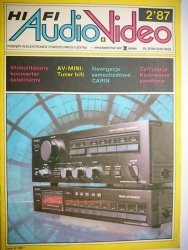 HIFI AUDIO VIDEO NR 2'87