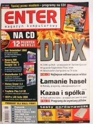 ENTER SIERPIEŃ 2003 Z PŁYTĄ CD