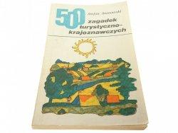 500 ZAGADEK TURYSTYCZNO-KRAJOZNAWCZYCH 1974