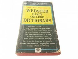 WEBSTER HANDY COLLEGE DICTIONARY 1963