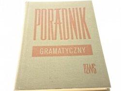 PORADNIK GRAMATYCZNY (1962)