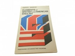 ELEMENTS OF BRITISH AND AMERICAN ENGLISH 1979
